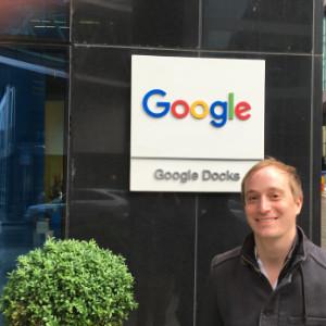 Ole Roloff bei Google in Dublin