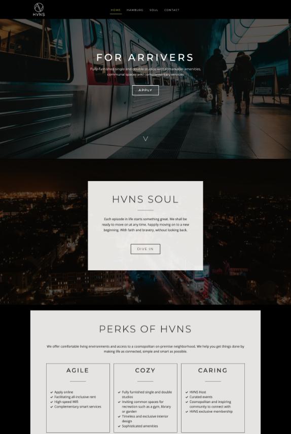 Webdesign-Referenz: HVNS