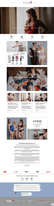 WordPress-Webdesign Referenz: Webseite von Doppel D